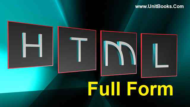 HTML full form in Hindi